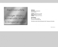 Bild Webseite Wollny Holger , Lückert Annekathrin Rechtsanwälte Mainz