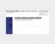 Bild Webseite Sulz Jürgen , Zworowsky Hasso von Rechtsanwälte Reutlingen