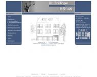 Website Anwaltskanzlei Braitinger A. Dr., Grupp W.-H., Jäcksch P., in der Stroth R. Dr. u. Heinrich S. Dr. Rechtsanwälte