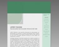 Bild Webseite Patentanwälte Lippert Dresden