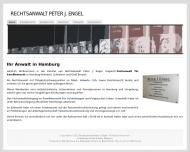 Bild Webseite Engel Peter J. Rechtsanwalt Hamburg