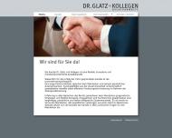 Bild Glatz Alfred Dr. jur. , Proske F., Kreutner G., Manner R. Dr. , Träxler Chr., Dr., Lohmeier A. Rechtsanwälte