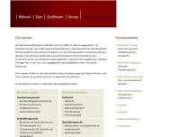 Bild Webseite Böhnert Färe Großmann Knoop Rechtsanwälte Hamburg