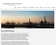 Bild Webseite Prinzenberg Hamburg