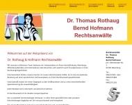 Bild Rechtsanwälte Rothaug Thomas Dr. und Hofmann Bernd