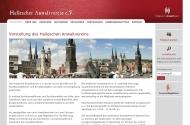 Bild Webseite Hallescher Anwaltsverein Halle