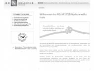 Bild Webseite NEUMEISTER Rechtsanwalt Halle