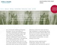 Bild Webseite Uexküll Jürgen-Detlev Frhr. von Dr. Patentanwalt Hamburg