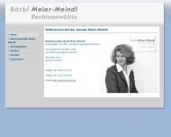 Bild Meier-Meindl Bärbl Susanne Rechtsanwältin