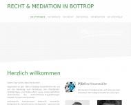 Bild Webseite  Bottrop