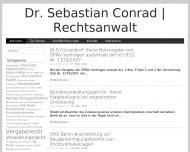 Bild Webseite Dr. Sebastian Conrad Berlin