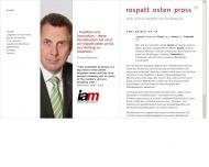 Bild Webseite Rospatt Osten Pross Rechtsanwälte Düsseldorf
