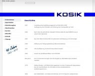 Website A. & C. Kosik Gesellschaft