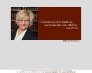 Bild Webseite Anwaltskanzlei Mokros Kortes Leipzig