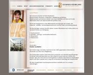 Bild Webseite Institut für Sanierungsberatung Halle