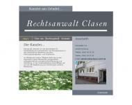 Bild Webseite Clasen Peter Rechtsanwalt Hamburg