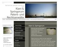 Bild Kiani , Springorum Harald Dr. Patentanwälte