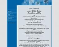 Bild Webseite Rechtsanwältin Anke Bläsi-Berg Hamburg