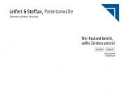 Bild Webseite Leifert & Steffan Düsseldorf