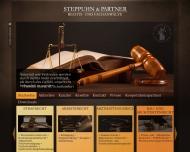Bild Webseite Rechtsanwaltskanzlei Steppuhn & Partner Hannover