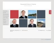 Bild Webseite Rechtsanwalt Maik Wünsche Hamburg