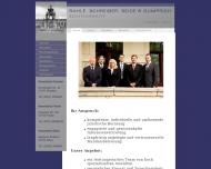 Bild Webseite Rechtsanwälte Rahle, Schreiber, Seide u. Gumprich Dresden