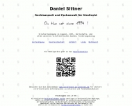 Bild Webseite Rechtsanwalt Daniel Sittner Dresden