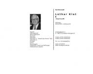 Bild Klatt Lothar Rechtsanwalt