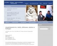 Bild Kulitz Peter Dr. , Nittmann Ulrich u. Andree Dagmar Anwaltskanzlei
