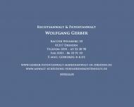 Bild Webseite Gerber Klemm Kurz Rechtsanwälte Dresden