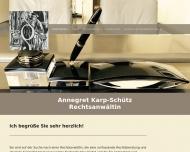 Bild Rechtsanwältin Annegret Karp-Schütz