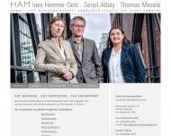 Bild Webseite Hemme Ines Rechtsanwältin Hamburg