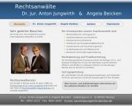 Bild Webseite Beicken & Jungwirth Dr. Rechtsanwälte Passau
