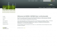Bild Webseite Hafner u. Partner Patentanwaltskanzlei Nürnberg
