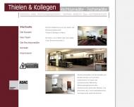 Website Thielen und Kollegen
