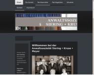 Bild Webseite Siering u. Kollegen Rechtsanwälte u. Notar Anwaltssozietät Spelle
