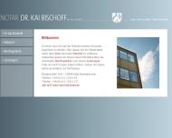 Bild Webseite Bischoff, Kai Dr. Notar Köln