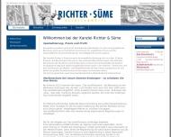 Bild Webseite Süme Oliver J. Hamburg