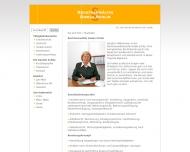 Bild Webseite Rechtsanwältin Gisela Schlie Berlin