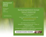 Website Schnell Dietrich Rechtsanwalt
