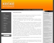 Website Kecke Sven Rechtsanwaltskanzlei