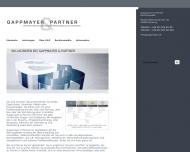 Bild Webseite Gappmayer & Partner Rechtsanwälte Hamburg