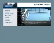 Bild Webseite Gaertner Oliver B. , Heeg Jan Rechtsanwälte Köln