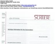 Bild Söller C + S GmbH Glas- und Metallbau