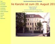 Bild Webseite Fichte Dresden