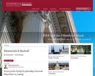 Bild Webseite Hümmerich & Bischoff Rechtsanwälte und Steuerberater in Partnerschaft Dresden