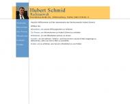 Bild Schmid Hubert Rechtsanwalt