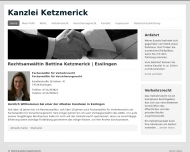 Bild Ketzmerick Bettina Rechtsanwältin