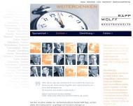 Bild Webseite Wolff, Rapp & Kollegen Rechtsanwälte Dresden