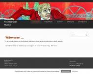 Bild Webseite Stanke Rolf-Reiner Rechtsanwalt Berlin